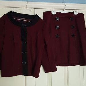 skirt & jacket
